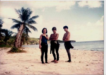 昔のラウラウビーチ