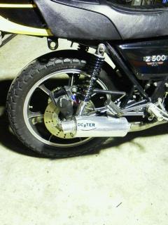 マフラーz500 2