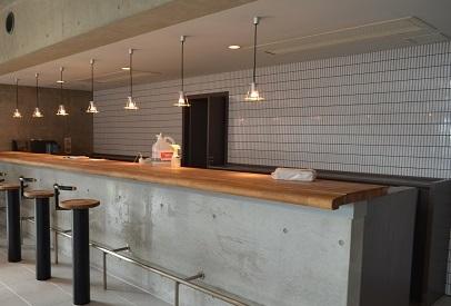 喫茶店改造計画カウンター