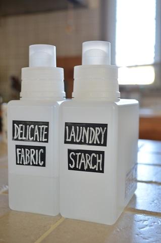 洗濯洗剤詰め替え