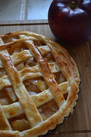 サツマイモリンゴパイ