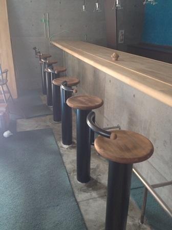 喫茶店改造計画カウンター椅子