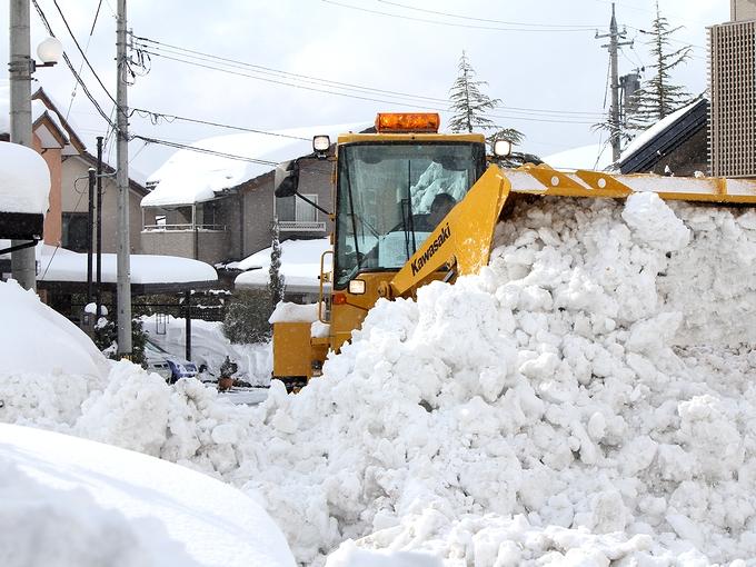 ドカ雪だった2011-2012シーズン