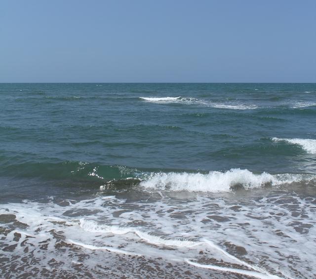 白山市倉部の海