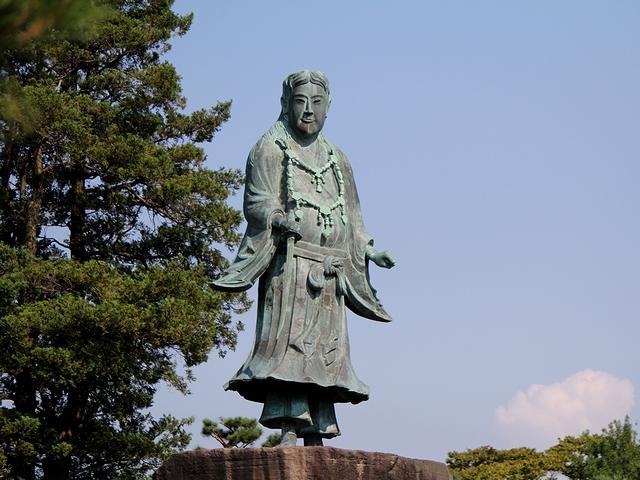 兼六園 日本武尊像