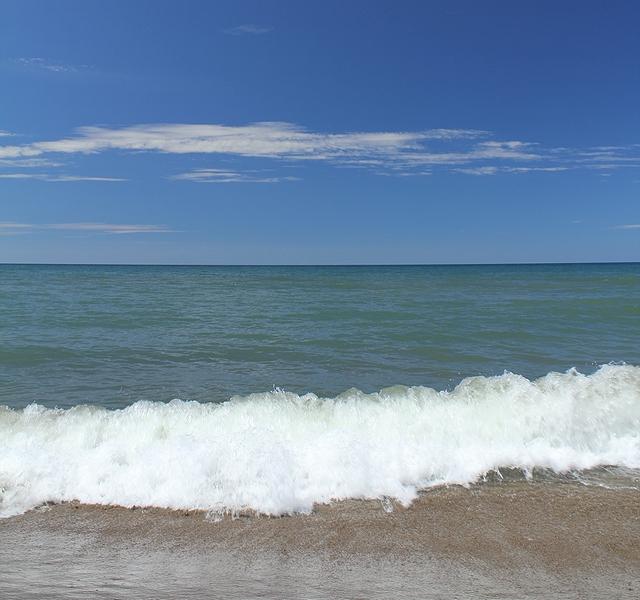 白山市 夏の海
