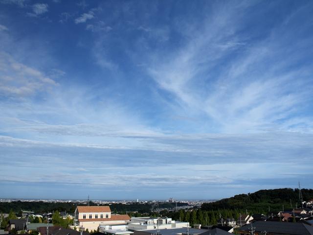 秋らしい空 石川県金沢市
