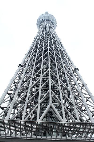 東京スカイツリー 真下から