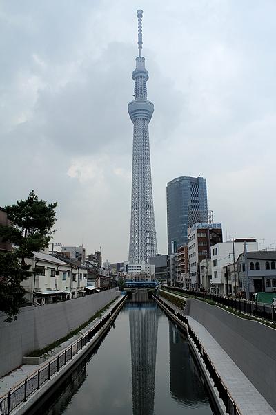 東京スカイツリー 十間橋より