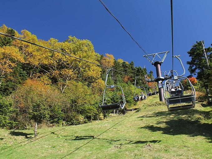 志賀高原 横手山へ続くリフト