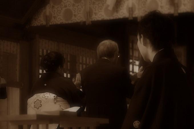 高瀬神社の結婚式