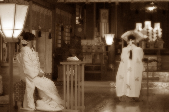 高瀬神社で結婚式