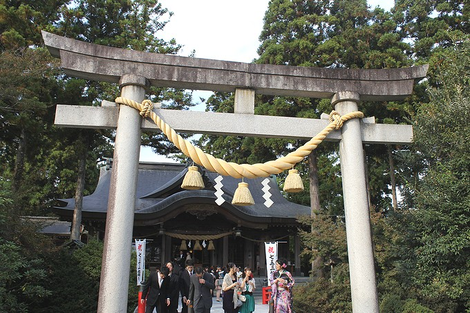 高瀬神社の鳥居