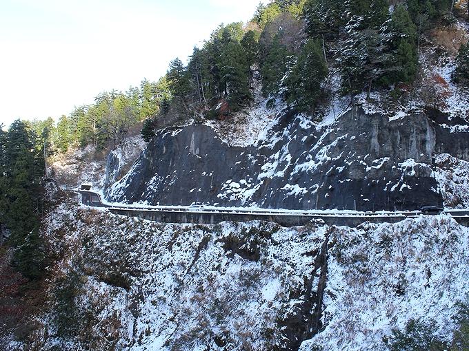 白山スーパー林道 雪景色
