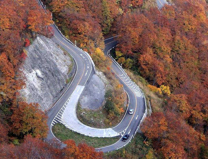 秋の白山スーパー林道