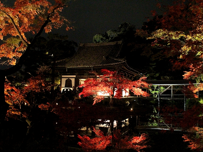 高台寺ライトアップ 開山堂