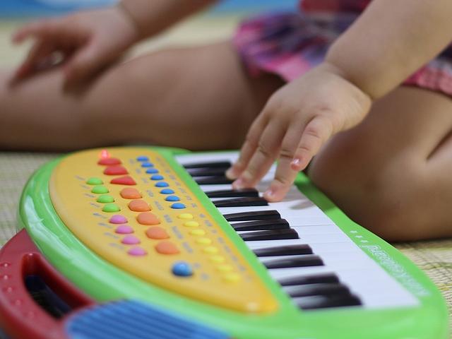 ピアノの練習の手