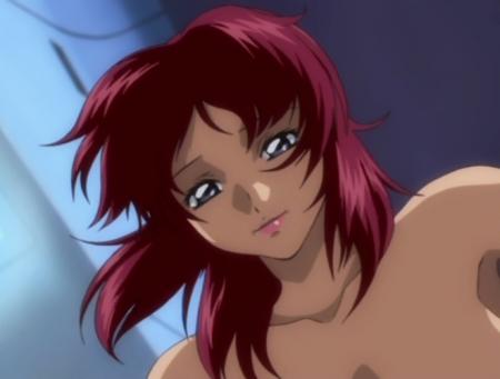 機動戦士ガンダムSEED21 フレイ・アルスターの胸裸