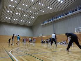 電大体育館