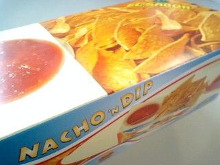 エルサボール ナチョディップ サルサソース付き(ギリシャ)¥350