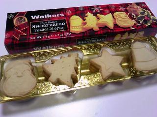 カルディ ウォーカー ショートブレッドフェスティブシェイプ(イギリス)¥598a
