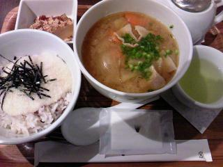 nanas green tea ランチセットD¥1050