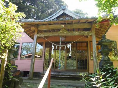 高屋神社拝殿