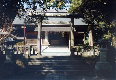 沓見莫越山神社