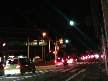 2012.8.13 渋滞