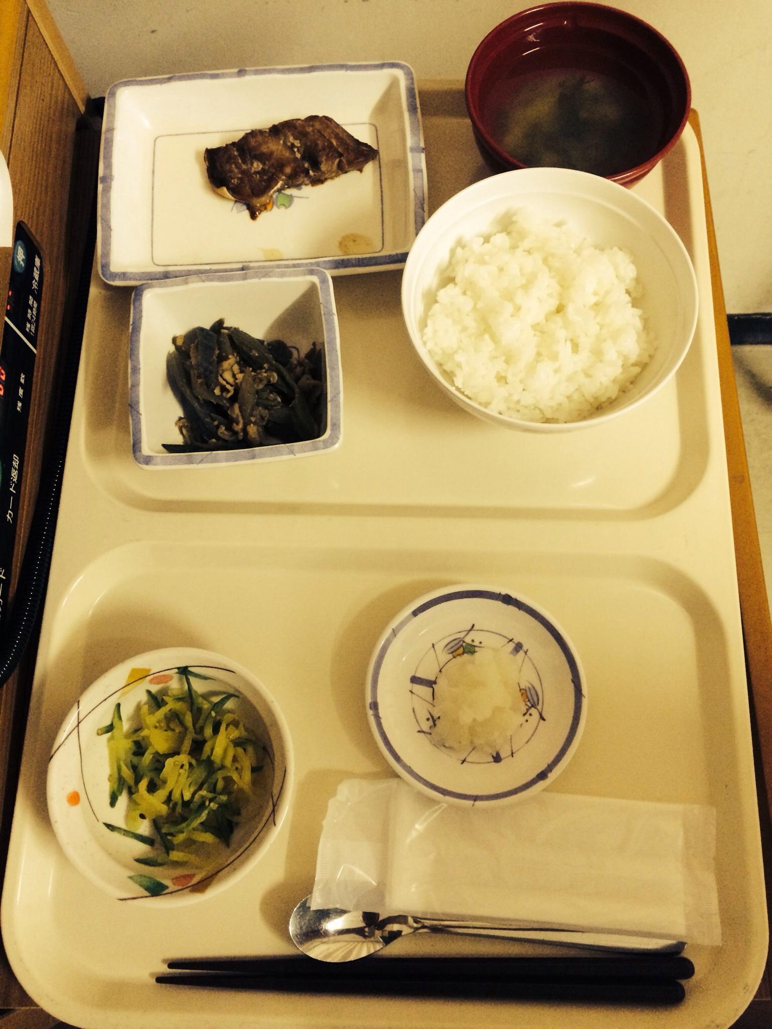函館中央病院 晩御飯
