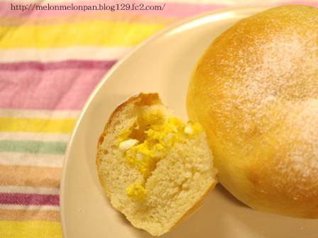 タマゴサラダの手ごねパン1時間