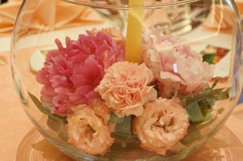 キャンドルの花