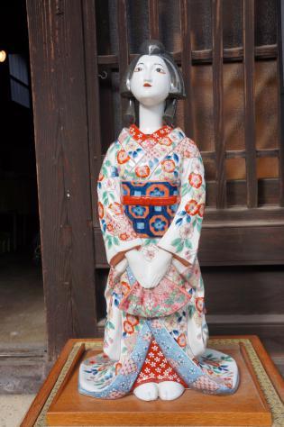焼き物人形
