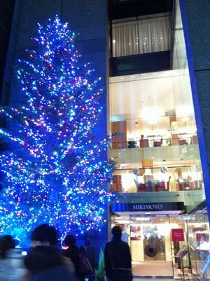 mikimotoクリスマスツリー