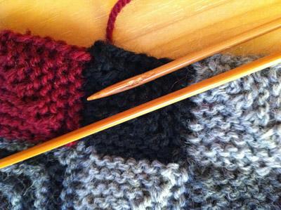 ドミノ編み2