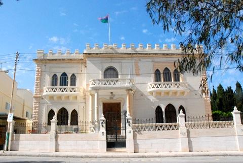 在マルタ・リビア大使館
