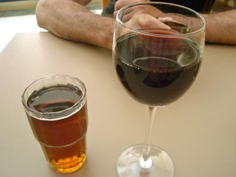 キ二ーとワイン