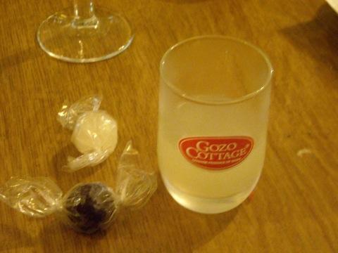 食後酒とキャンディー
