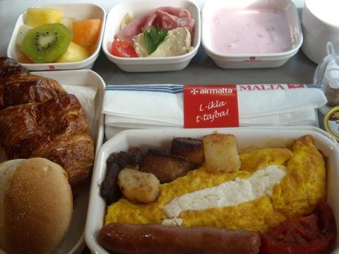 Club Class Meal @ AirMalta