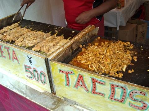 メシコ料理屋台