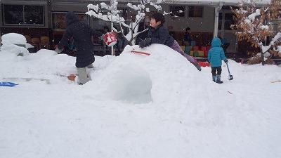 ★雪遊び1