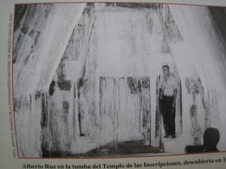 発見当時の石室