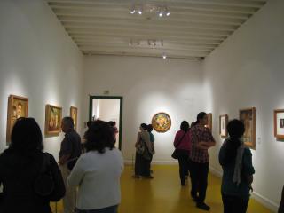 作品展示室