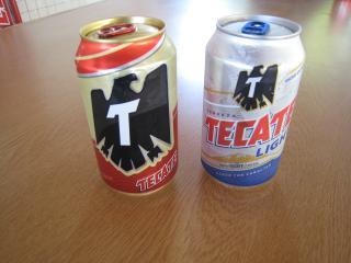 ビールテカテとライト