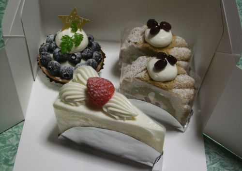 菓子工房 KLARAのケーキ