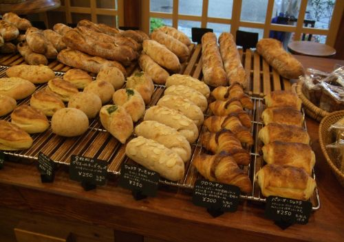 『ブーランジェリー&カフェ ムギ』のパン