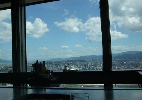 最上階からの眺め♪
