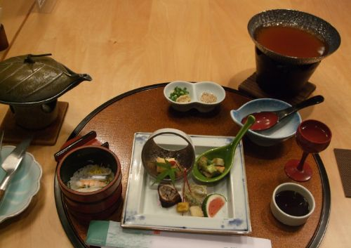霧島ホテル・夕食