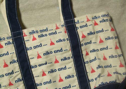 『nico and...』のトートバック