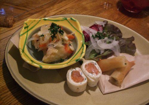 『JYAN JYAN』 前菜の盛り合わせ